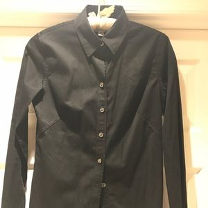 Banana Republic Fitted Stretch Button-down.